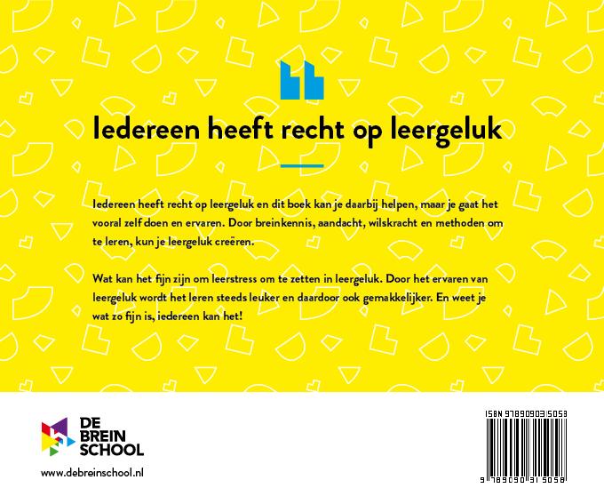 de breinschool werkboek leergeluk acterkant
