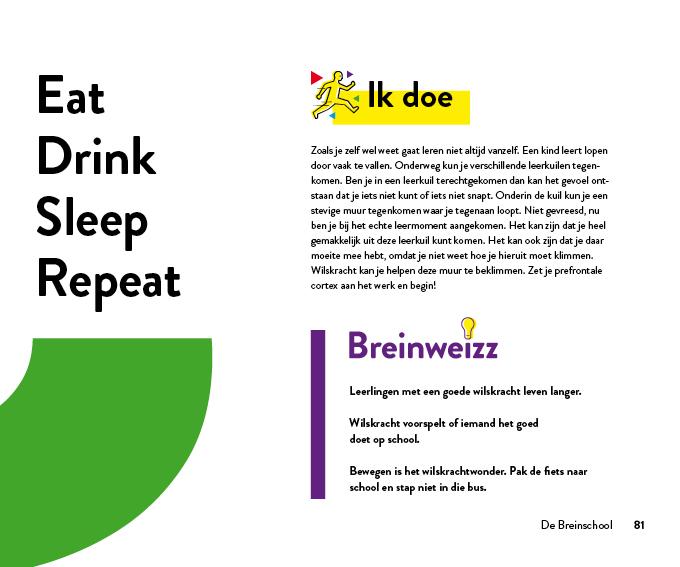 de breinschool werkboek leergeluk hoofdstuk 6 ik doe
